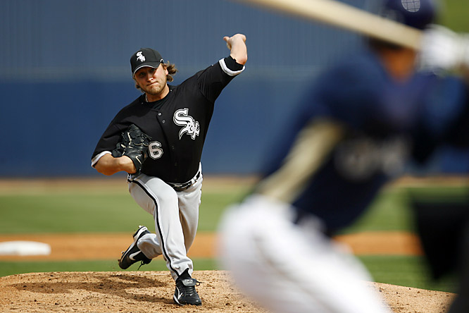 Mark Buehrle hopes to bounce back from the first losing season (12-13) of his career last year.