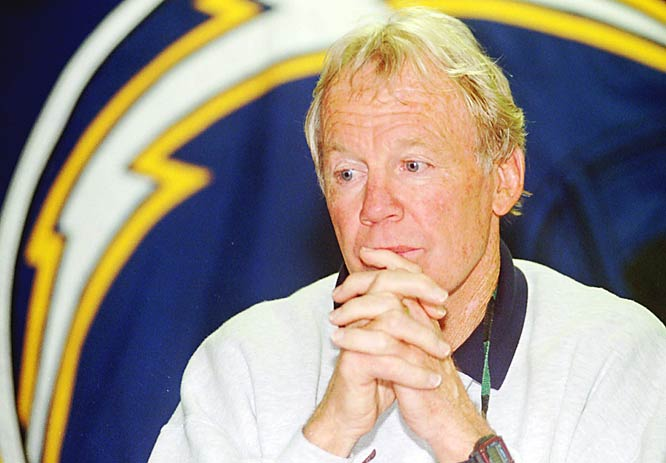 Chargers GM Bobby Beathard, for drafting Ryan Leaf.
