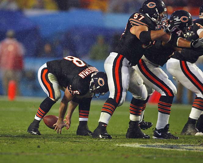 Rex Grossman, for making the Super Bowl unwatchable.