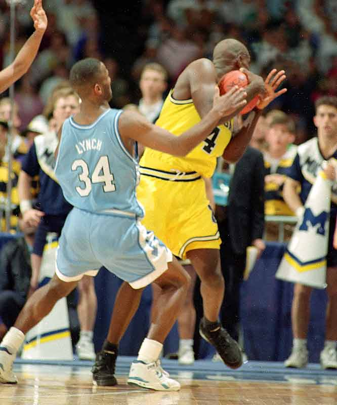Chris Webber, for the famed timeout against North Carolina in the 1993 title game.