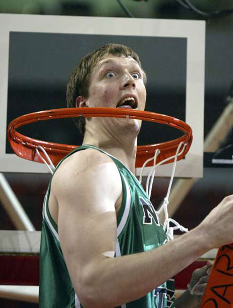 It truly is March Madness for Justin Howerton of North Texas.