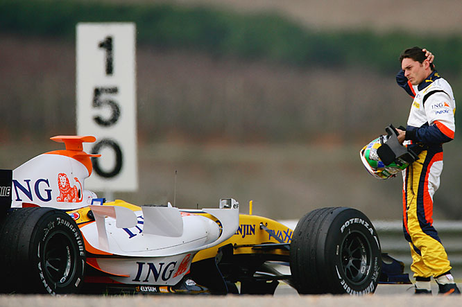 The team is counting on the Italian with Alonso gone. He was fourth in the championship with one win last season and helped Renault win the Constructors' title. The 34-year-old has three wins in 178 GPs, but has scored 130 or his 246 career points in the past two seasons.