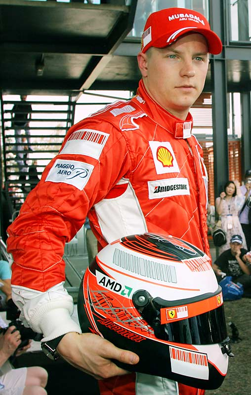 As Michael Schumacher's replacement, he faces big expectations. Ferrari didn't hire him to run second.
