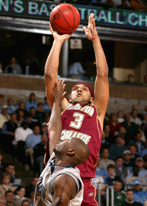 Jared Dudley had 19 points to help Boston College build an early lead, but the Eagles couldn't hold on.