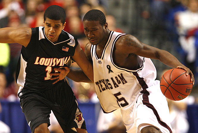 Donald Sloan helped Texas A&M reach the Sweet  16 for the first time in 27 years.