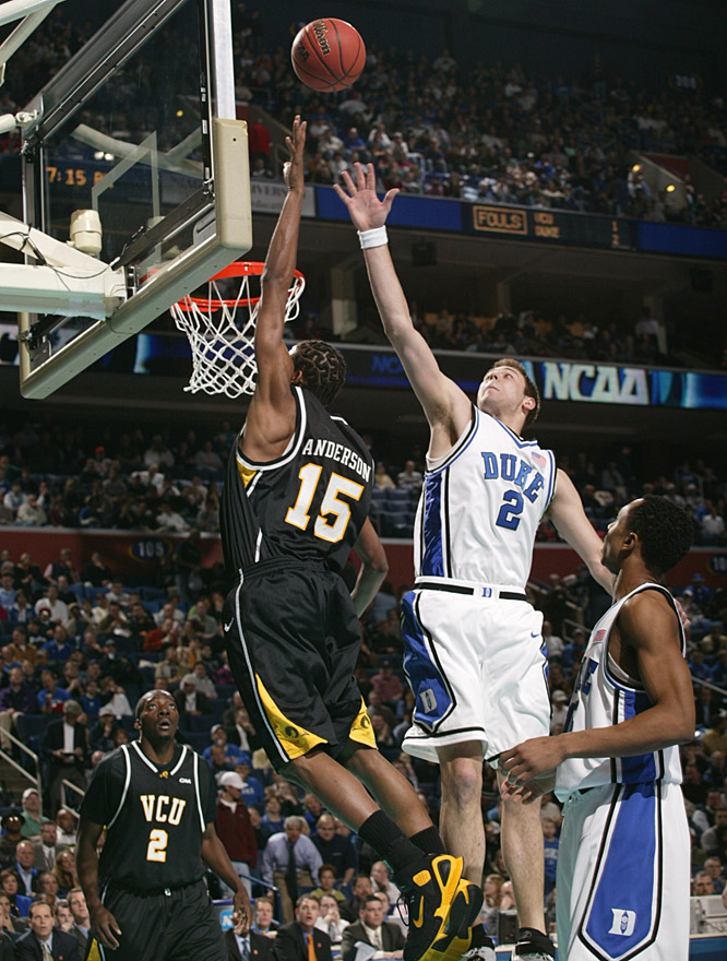 Michael Anderson chipped in 10 points and was one of five VCU players to score in double digits.