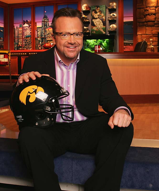 Tom Arnold, who was born in Ottumwa, Iowa, has always been a dedicated Hawkeye fan.