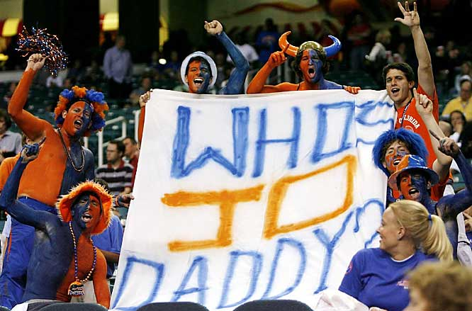 Ohio State fans found out the hard way that Joakim Noah and the Gators were indeed their daddy.