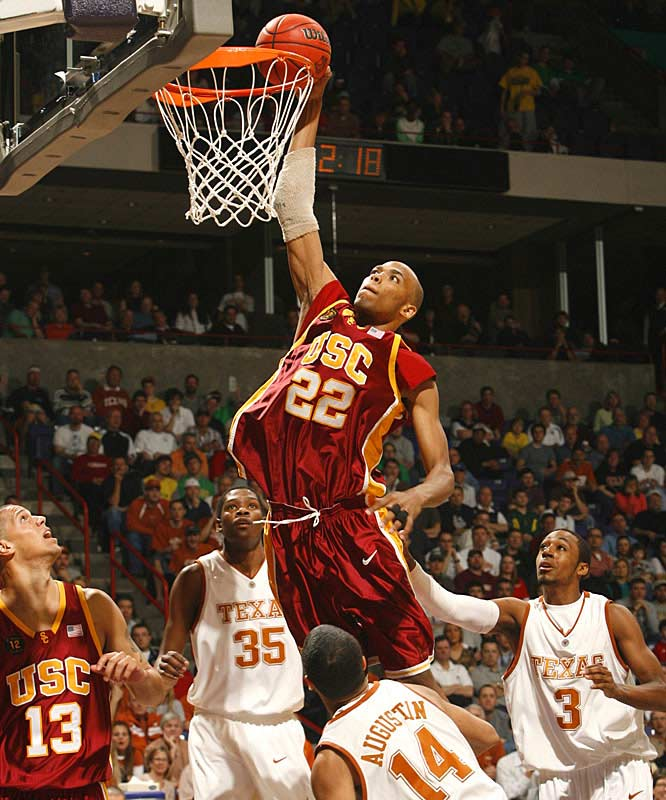 Taj Gibson had 17 points to help USC advance to the Sweet 16 for the second time since 1979.