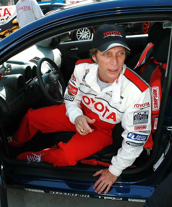 "Currently starring in Fox's ""Prison Break,"" Fichtner drove in the 2006 race at Long Beach."
