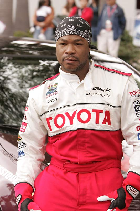 "The hip-hop star and TV personality (""Pimp My Ride"") prior to his race in 2006."