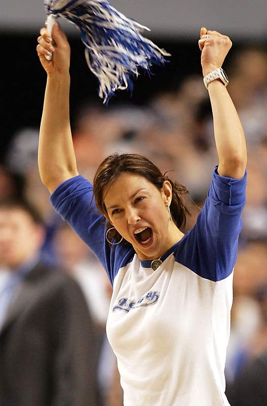 Craving an Ashley Judd sighting? You'll find her at Kentucky basketball games.