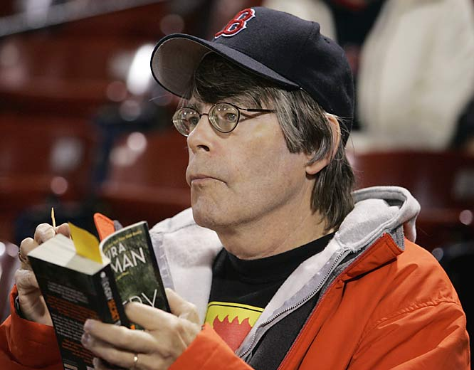 Stephen King has watched the Sox pen many a thriller at Fenway.