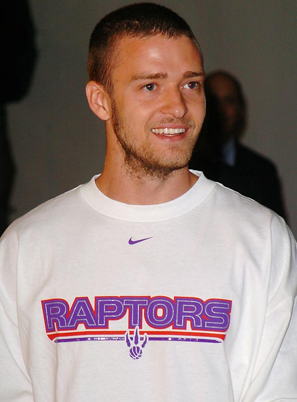 Though Justin Timberlake is purportedly afraid of snakes and spiders, he holds the Raptors close to his heart.