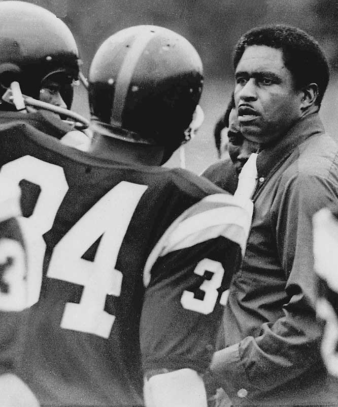 Eddie Robinson was hired by Grambling State University, a historically black college in rural Louisiana, in 1941. In his second year at the school, Grambling went 9-0 and didn't give up a single point.