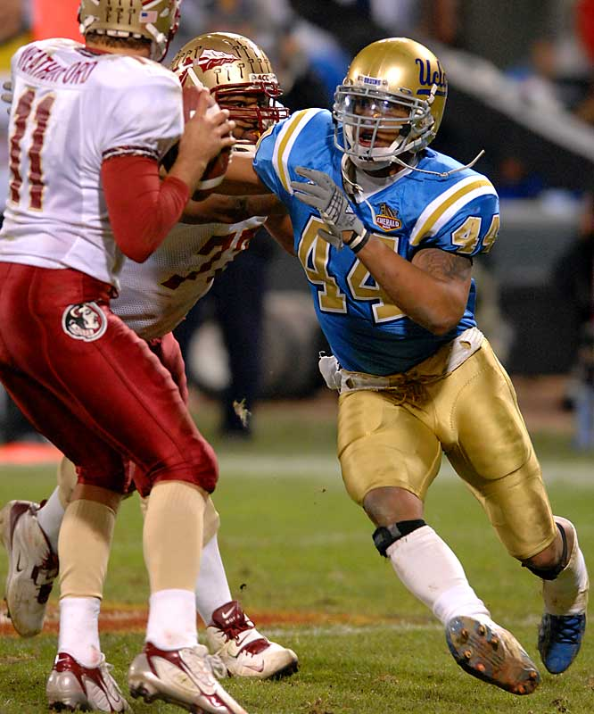 Utilizing premier speed off the edge, Davis recorded 12.5 sacks -- tops among all returning players. He headlines a talented UCLA defense that returns 10 starters.