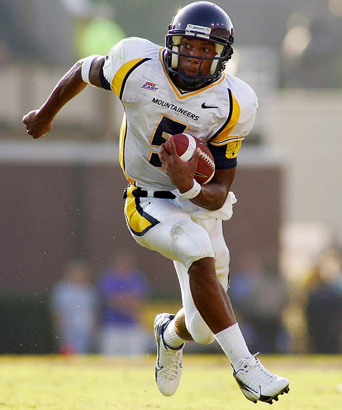 Between White and Steve Slaton, it's difficult to say who is more important to West Virginia's fertile spread-option attack. As the nation's premier dual-threat QB, White ran for 18 touchdowns and threw for 13.