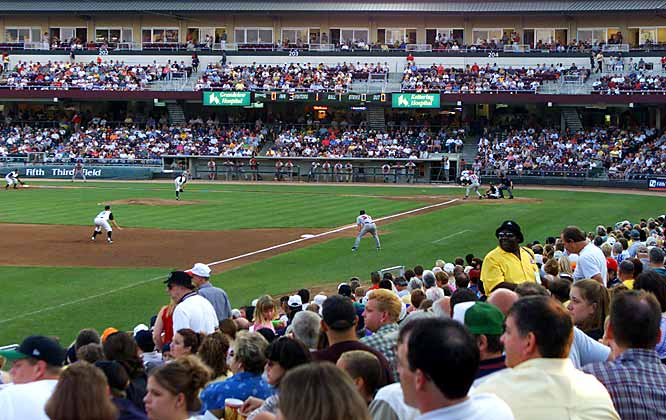 This Single-A affiliate of the Cincinnati Reds has sold out every game since its inception in 2000. On April 17, the Dragons played in front of their 500th consecutive sellout crowd. Their streak is believed to be the current longest across professional sports in the U.S.<br><br>Leave your comments at siwriters@simail.com