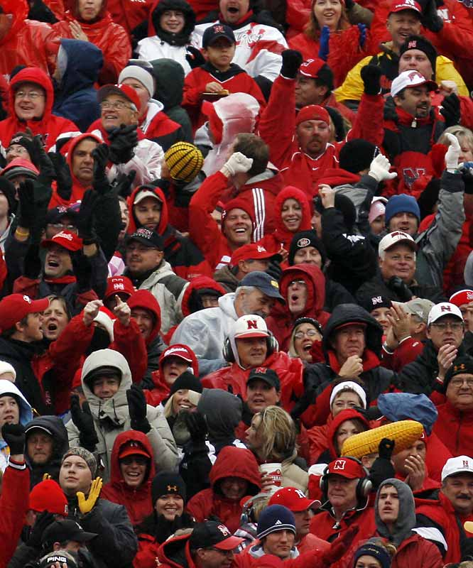 """Big Red"" has sold out every game since Nov. 3, 1962, a streak of 282 consecutive games that stands as the NCAA record."