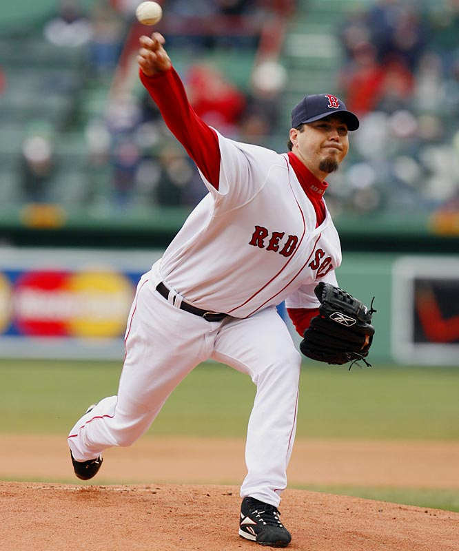 Josh Beckett (4-0) continued his hot start for the Red Sox this season with wins over the Angels and Yankees last week.