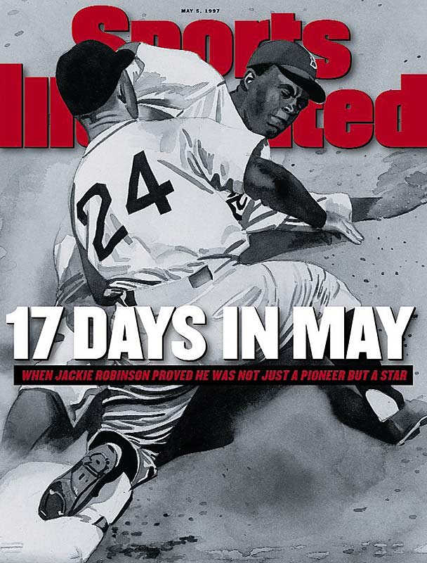 Robinson on the SI cover of May 5, 1997.