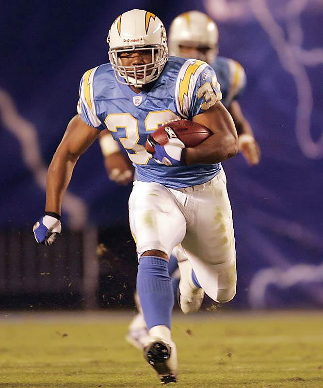 According to reports, the Cowboys, Bills, Jets and Titans have asked San Diego about its restricted free-agent running back. The Chargers want a first- and third-round pick for LaDainian Tomlinson's backup. The 25-year-old Turner averaged 6.3 yards per carry last season.