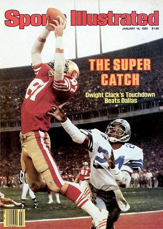 """Talk about value. The 49ers took Hall of Fame quarterback Joe Montana in the third round and  Pro Bowl wide receiver Dwight Clark in the 10th. That duo hooked up for """"The Catch,"""" which helped the 49ers beat the Cowboys in the 1981 NFC Championship Game and propelled San Francisco to a decade of dominance."""