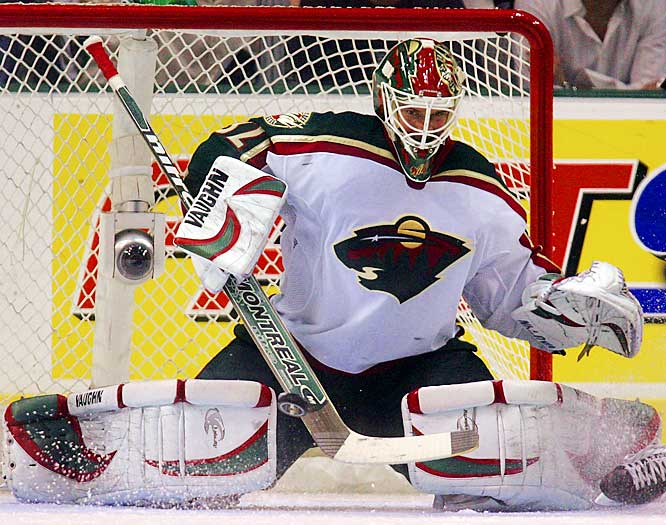 After taking over for the injured Manny Fernandez in November, Backstrom enters his first playoffs with a 23-8-6 record and 1.97 GAA. He'll have to maintain his edge if the Wild hopes to keep the potent Ducks at bay.