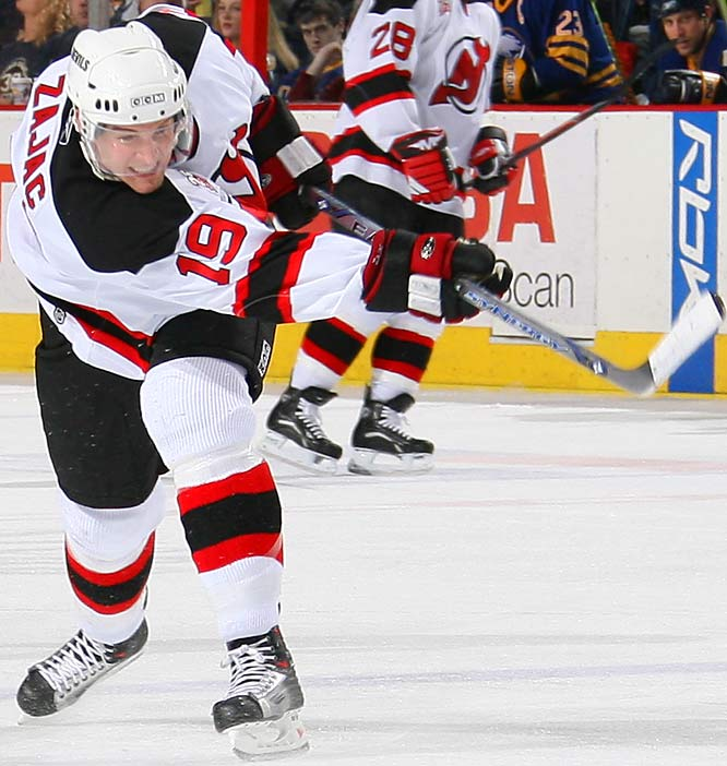 With Tampa Bay packing the big guns in this series, 21-year old rookie Zajac (17-25-42) will be counted on to provide energy and scoring to New Jersey's popgun offense.