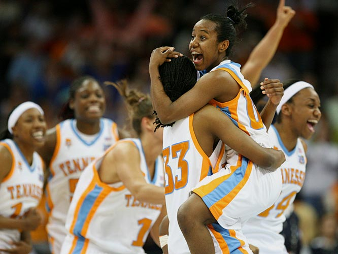 Led by All-America Candace Parker and coached by Pat Summitt, the all-time winningest coach in NCAA history, Tennessee won its seventh national title earlier this month. Parker scored 17 points and grabbed 7 rebounds and was named the most outstanding player of the Final Four.