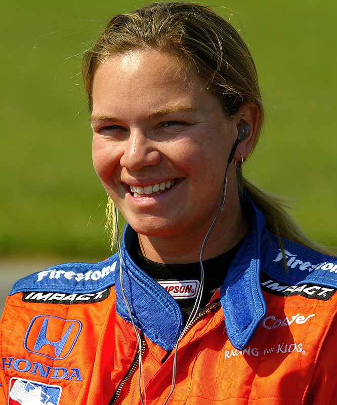 Her second-place finish in the IRL race at Homestead in 2001 remains the best result for a woman driver in Indy-style racing. Having spent the previous three seasons driving mostly in stock car events, Fisher signed with Dreyer & Reinbold Racing and is back to the IndyCar Series.