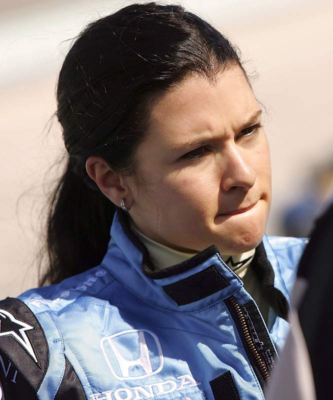 The first woman to ever lead a lap at the Indianapolis 500, Patrick is in her third season in America's top open-wheel series. She has yet to reach Victory Lane, but a new team (Andretti Green Racing) should give her a better chance this year.