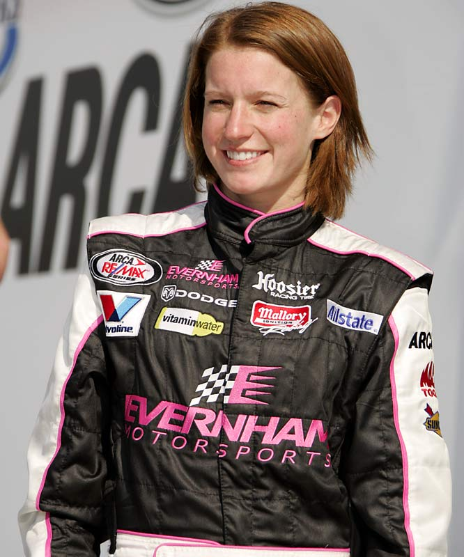 She's the only woman to compete full-time in the NASCAR Craftsman Truck Series, and this year she will drive an Evernham Motorsports Dodge in both the ARCA and NASCAR Busch Series. Crocker, who started her career in open-wheel racing, is the only female to win a World of Outlaws race.