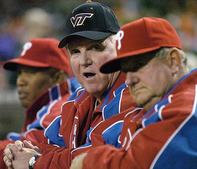 Philadelphia Phillies manager Charlie Manuel is a graduate of Parry McCluer High School in Buena Vista, Va.