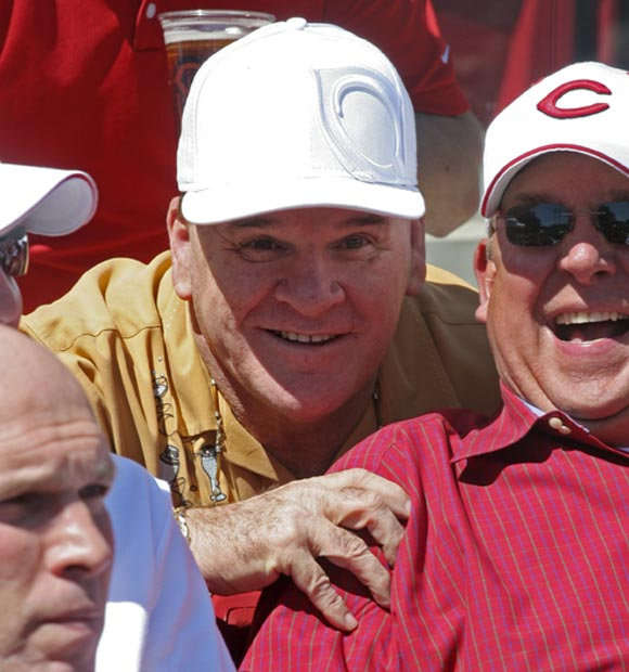 ... Even Pete Rose, who looks like he may have had the Reds on Monday.