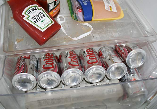 ...It's just Diet Cherry Coke.