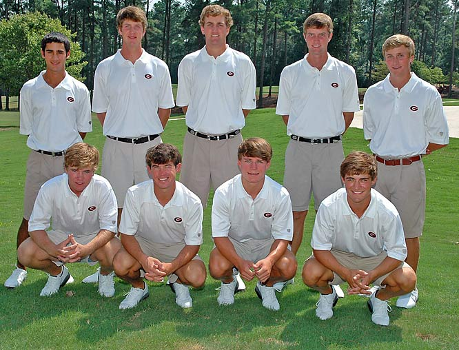 Although the champion won't be decided until June 2 in Williamsburg, Va., the University of Georgia is currently ranked No. 1 by Golfweek.com.