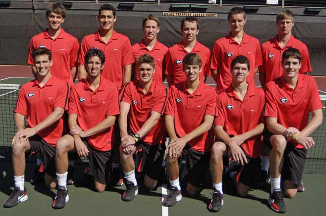 The Georgia squad (28-0) is currently ranked No. 1 in the nation by College Tennis Online, and are the favorite to win this weekend's championship tournament.