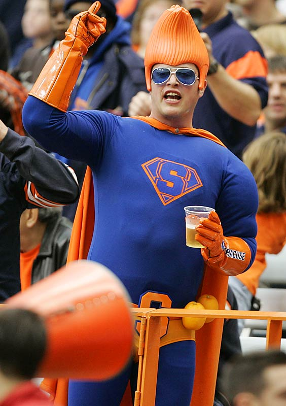 Do superheroes drink beer? This Orange-Man does.