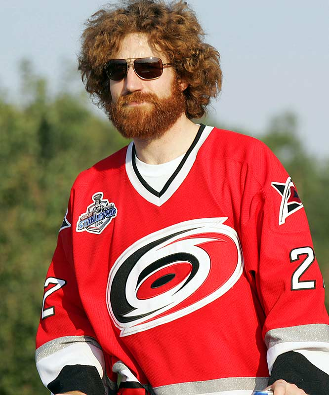 During Carolina's Stanley Cup run in 2006, defenseman Mike Commodore was in full bloom.