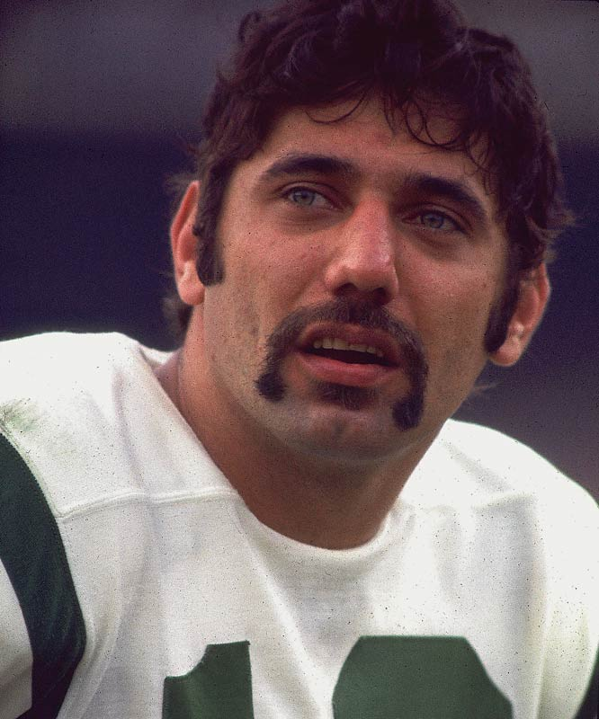 The most famous Fu Manchu in sports history was later shaved off on a Noxzema commercial.