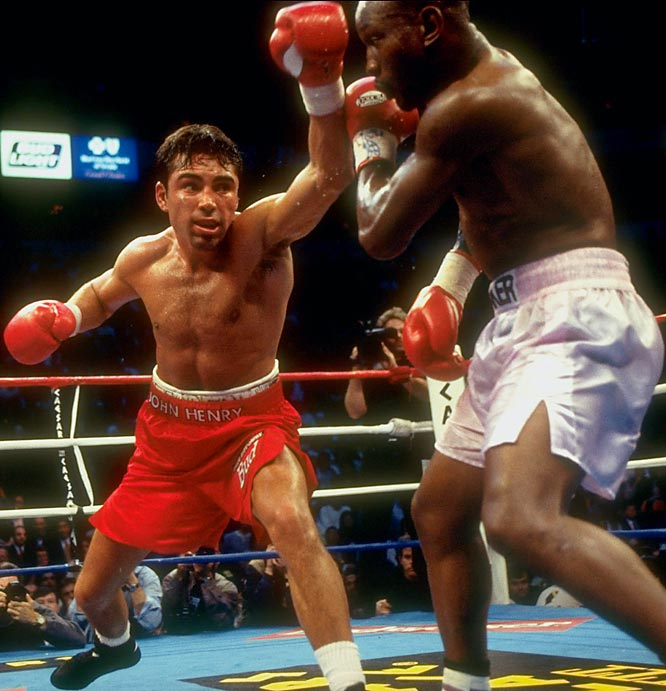 """His style is the most difficult in boxing,"" said De La Hoya, in reference to the southpaw wizardry of Whitaker, 33, the WBC welterweight champ and, pound for pound, the best boxer in the world. In a cat-and-mouse fight that was probably closer than the judges' scorecards had it, De La Hoya -- in his first outing at 147 pounds -- emerged with a 12-round decision and a serious dose of experience.<br><br>Visit SI.com for a live round-by-round of De La Hoya-Mayweather on Saturday."
