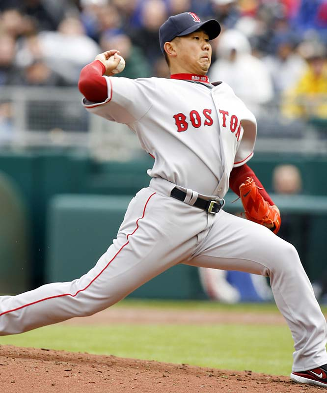 In Japan, he hawks Asahi Super Dry beer and Nike, among other products. If Dice-K wins big in America, the sky's the limit.  He signed a $52 million, six-year contract that could raise his base salary to as much as $12 million by 2011.