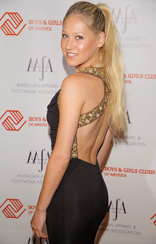Anna Kournikova went to the 29th annual AAFA American Image Awards. How many consecutive years can one woman win best ponytail?