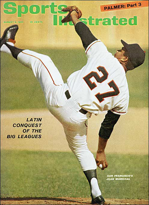 Marichal's otherworldly high leg kick made his curve, slider, screwball and fastball seem even more intimidating. His reputation was colored by his bat-swinging blowup at Dodgers catcher John Roseboro on Aug. 22, 1965. Marichal had already flattened Maury Wills and Ron Fairly with brushbacks when Roseboro's return throw came close to Marichal's head. Marichal rapped the catcher on the head with his bat, sparking a wild brawl.