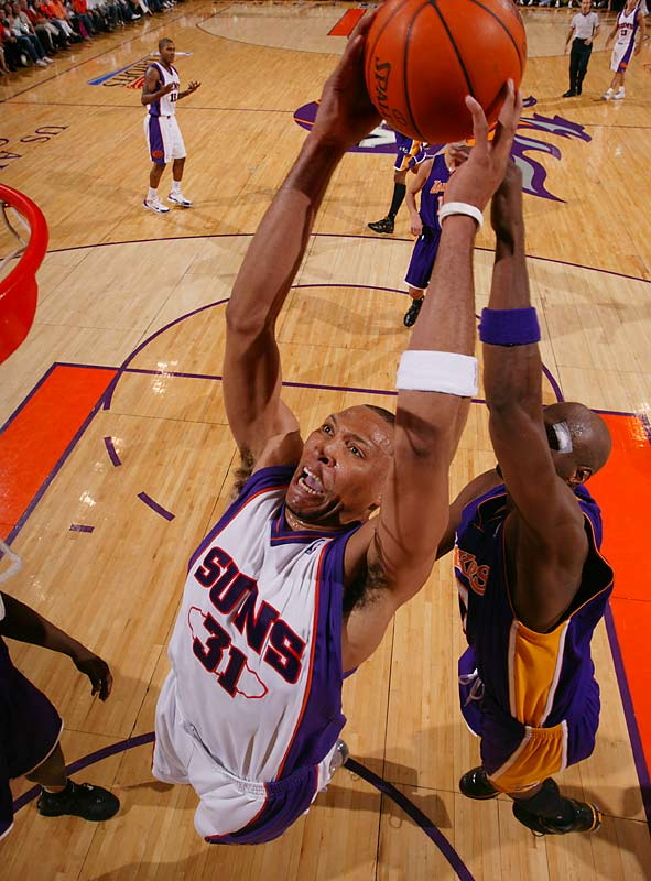 After failing yet again to make the NBA Finals, the Suns need to strengthen a bench that offered little help beyond Leandro Barbosa and Kurt Thomas. That's where Marion comes in. Though his 19 points, 10 rebounds, 1.3 blocks and long-range shooting would not be easy to replace, the salary-cap savings and players acquired in a possible deal may afford the Suns the depth they need.
