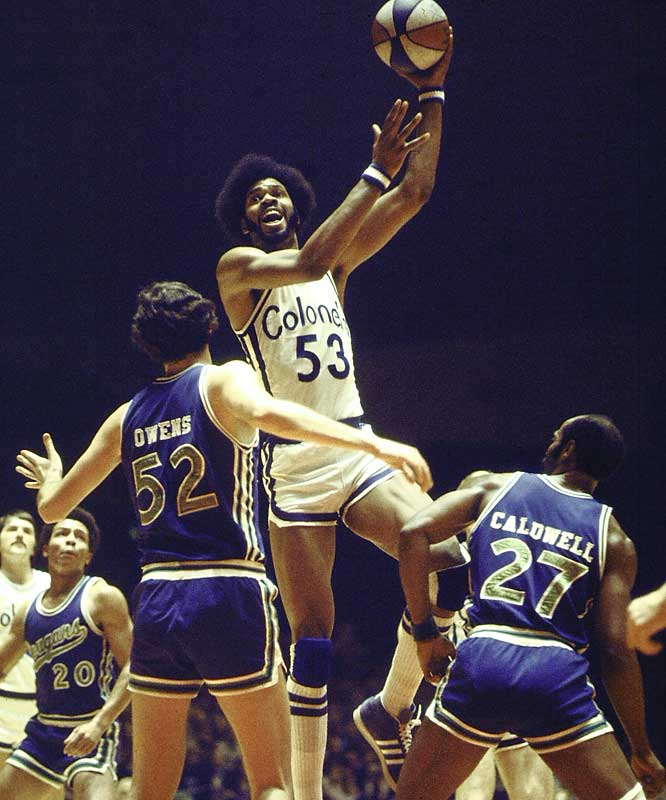 A consensus choice as the strongest man in the NBA during his career, Gilmore did win the ABA MVP award in 1972, winning Rookie of the Year the same season. Gilmore is the best percentage shooter in NBA history, making 59.9 percent of his shots. When Gilmore got the ball in the low post, he scored despite the presence of multiple defenders. His omission from the Hall of Fame is an embarrassment to the sport.