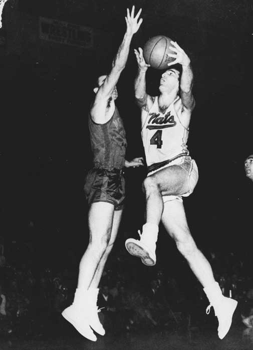 Some have forgotten Schayes' greatness because the NBA no longer has a team in Syracuse or because his genius on the court happened more than 40 years ago. But here's one accolade that should get across how magnificent this set-shooting big man was: He was named first- or second-team All-NBA for 12 consecutive seasons from 1950 to 1961. He also grabbed more than 11,000 rebounds in his 16-year career.