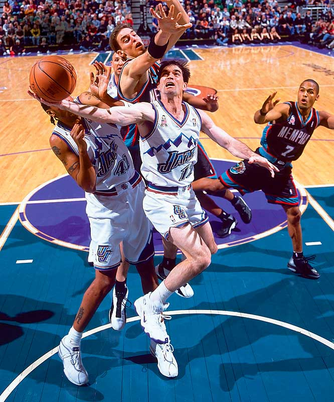 Stockton played 19 seasons in the NBA. He came into the league when Larry Bird, Moses Malone and Magic Johnson were the league's top players and he was still playing when each of those icons went into the Hall of Fame. It won't be long before the Hall calls Stockton, who holds one of the few unbreakable records in the NBA record book. He recorded 15,806 career assists -- more than 5,000 ahead of Magic.