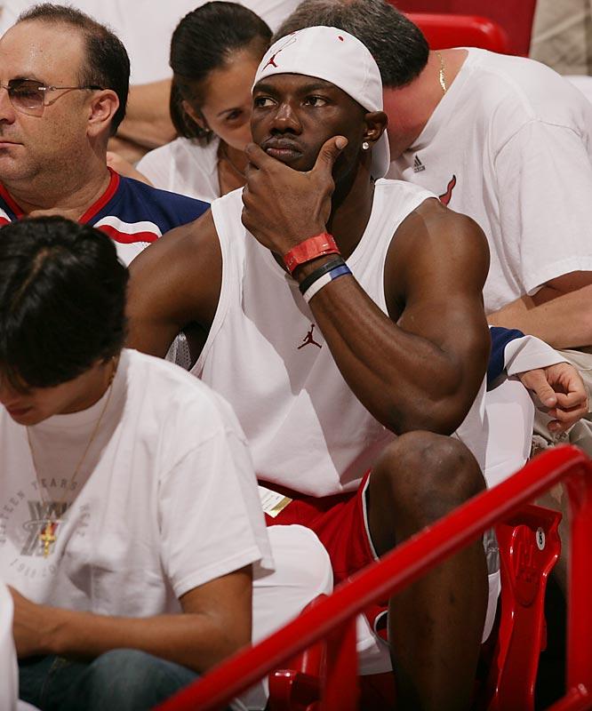 Chicago Bulls vs. Miami Heat  <br>Game 4 at Miami's American Airlines Arena